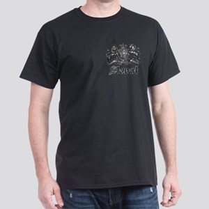 Stewart Vintage Crest Family Name Dark T-Shirt
